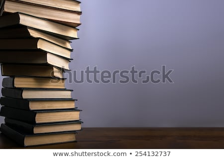 spiral stack of books stock photo © a2bb5s