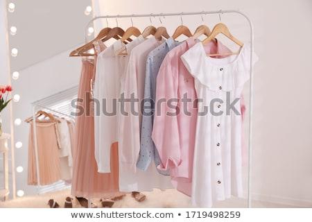 organisé · placard · vêtements · maison · maison · meubles - photo stock © thp