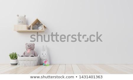 chambre · illustration · intérieur · maison · fenêtre · président - photo stock © re_bekka