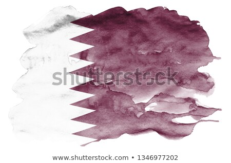 State of Qatar Stock photo © Vectorminator