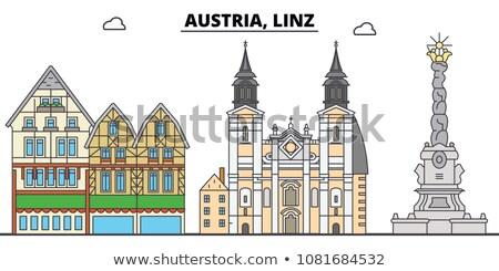 Panorama of Linz Stock photo © tepic