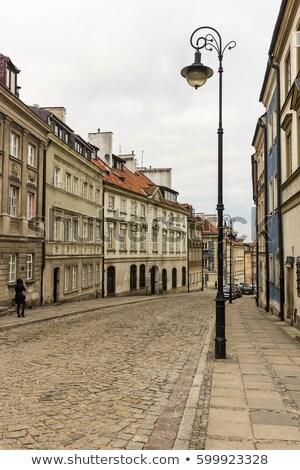 Classique église Varsovie vieille ville Pologne célèbre Photo stock © linfernum