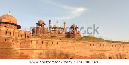 Rosso fort India ingresso cancello città Foto d'archivio © billperry