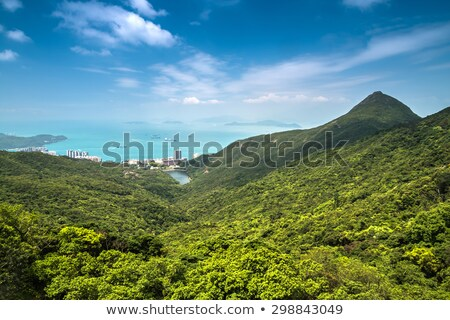 Mountains and seascape in Hong Kong Stock photo © kawing921