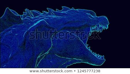 Open-Wide Monster Stock photo © eldadcarin