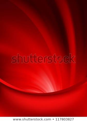 Red curtain fade to dark card. EPS 8 Stock photo © beholdereye