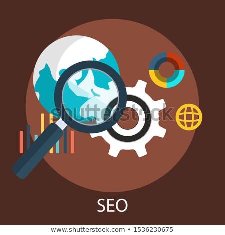 ウェブ マーケティング インターネット 緑 矢印 ウェビナー ストックフォト © tashatuvango