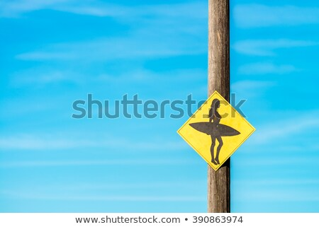 woman on manly beach in sydney australia Stock photo © travelphotography