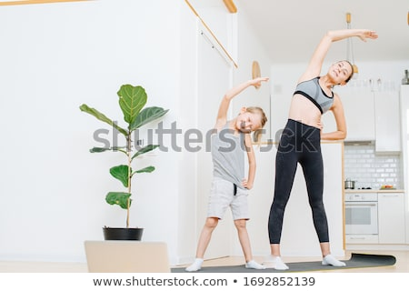 keep fit and healthy Stock photo © jayfish