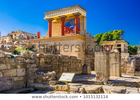 Ancient site of Knossos in Crete Stock photo © IMaster