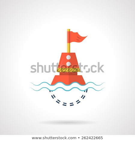 eps 10 vector of design element as shape of life buoy stock photo © istanbul2009