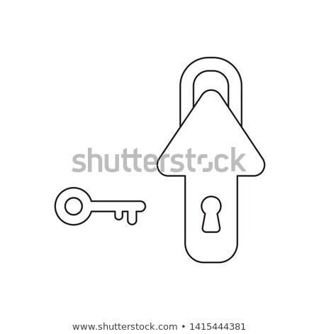 key to growing stock photo © lightsource