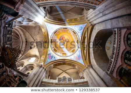 Interior of the Church of the Holy Sepulchre Stock photo © AndreyKr