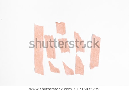 Alphabet A with colorful polaroids Stock photo © shawlinmohd