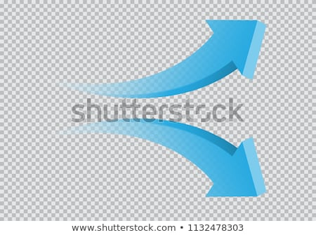3d stat with growing arrow Stock photo © tiero