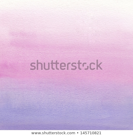 Watercolor painting. White, pink, purple gradient  Stock photo © amok