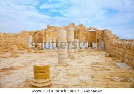ciudad · paredes · ruinas · pared · rock · piedra - foto stock © meinzahn