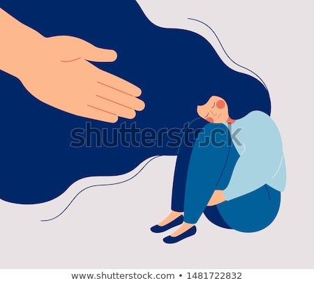 Photo stock: Psychologie · aider · solutions · psychiatrique · problèmes · santé · mentale