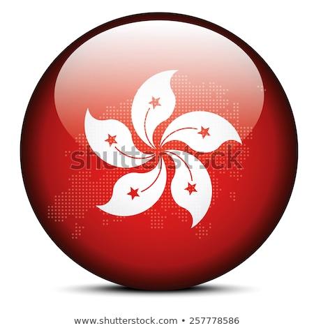 map of hong kong sar china with dot pattern stock photo © istanbul2009