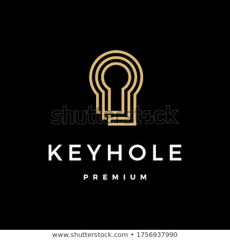house with key hole logo stock photo © anna_leni