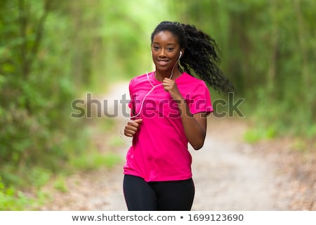 Running people stock photo © Aiel