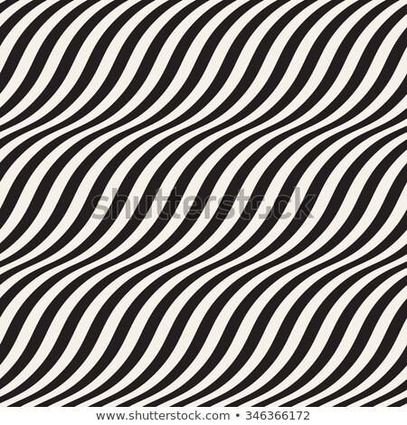 Negro 3D diagonal olas sin costura oscuro Foto stock © Zebra-Finch
