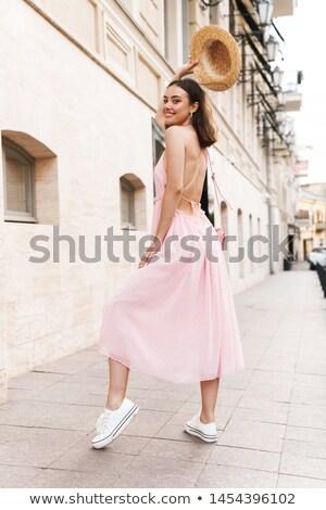 indossare · estate · abito · bella · ragazza - foto d'archivio © Sonar
