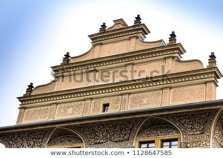 ünlü · saray · Prag · kale · kare · bir - stok fotoğraf © capturelight