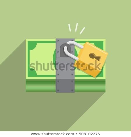 Money locked Stock photo © fuzzbones0