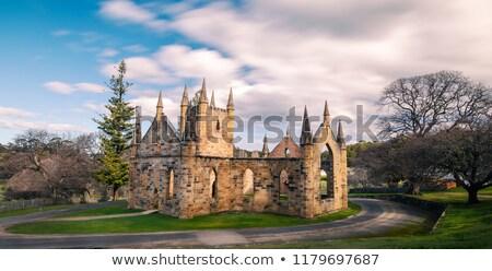 Port Arthur Convict Church Tasmania Stock photo © roboriginal