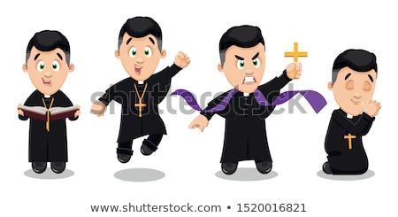 priest prayer stock photo © adrenalina