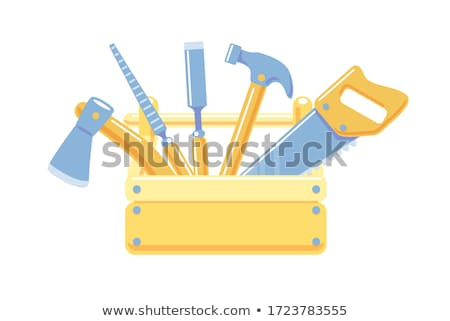 przemysłu · narzędzia · ikona · wektora · malarstwo - zdjęcia stock © krisdog