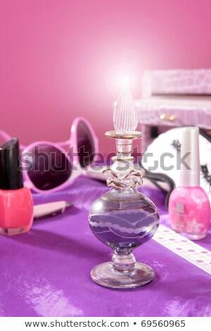 スタイル · ファッション · 化粧 · 虚栄心 · ピンク - ストックフォト © lunamarina