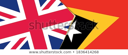 United Kingdom and East Timor Flags Stock photo © Istanbul2009