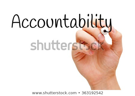 Accountability Black Marker Stock photo © ivelin