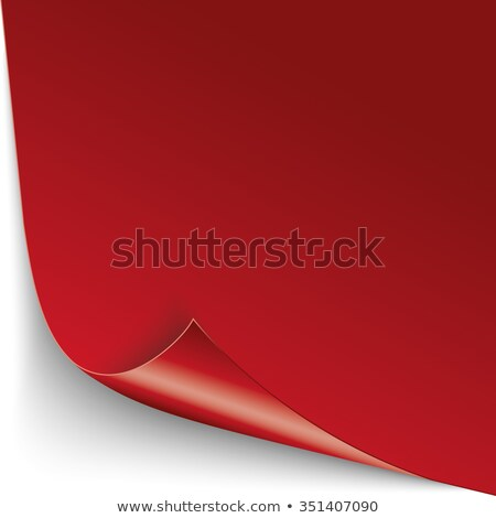Convert Brochure Red Paper Cover Stock photo © limbi007