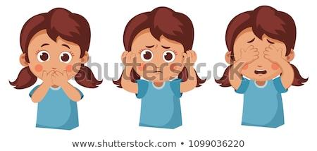 Deaf, dumb, blind Stock photo © tiKkraf69