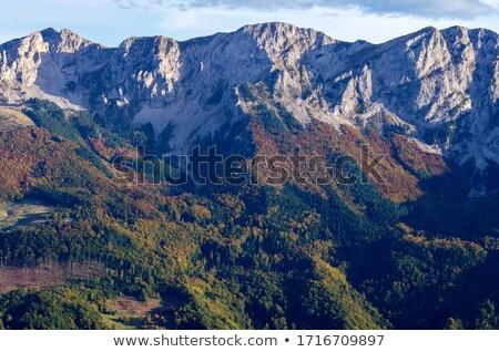 山 モンテネグロ アルバニア 国境 湖 ストックフォト © Steffus