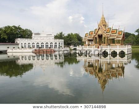 Knall Schmerzen royal Sommer Palast Bangkok Stock foto © meinzahn