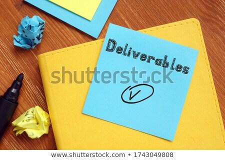Deliverance Stock photo © Lightsource