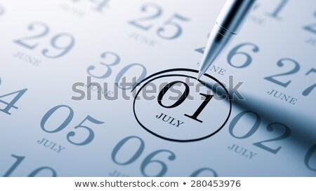 1st july stock photo © oakozhan