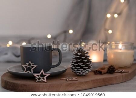 christmas fairy lights stock photo © solarseven