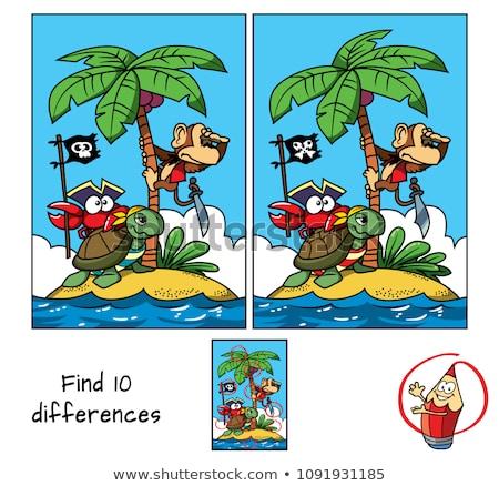 difference game with animals stock photo © izakowski