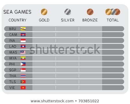 gold medal on earth stock photo © bluering
