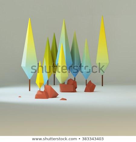 Abstract bruin laag achtergrond donkere Stockfoto © SArts