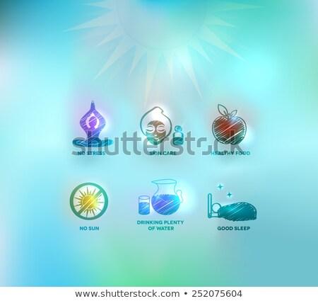 kardiyovasküler · kalmak · sağlıklı · tıbbi · elma - stok fotoğraf © tefi