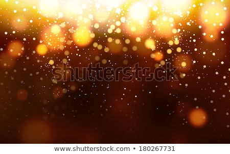 magic sparkle gold dots on dark background vector bokeh effect stock photo © fresh_5265954
