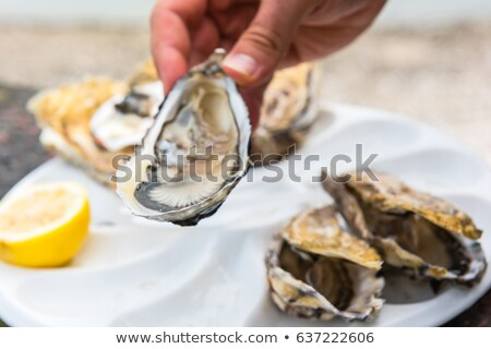 Aphrodisiac Food with Oysters   Stock photo © marilyna