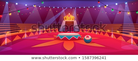 Circus Ring Empty Stock photo © albund