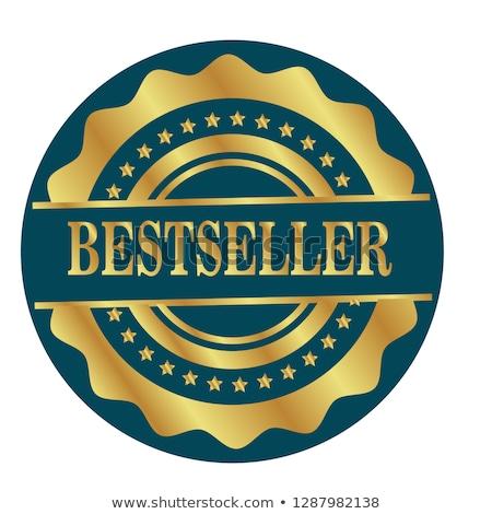Bestseller medalha branco negócio compras compras Foto stock © nasirkhan